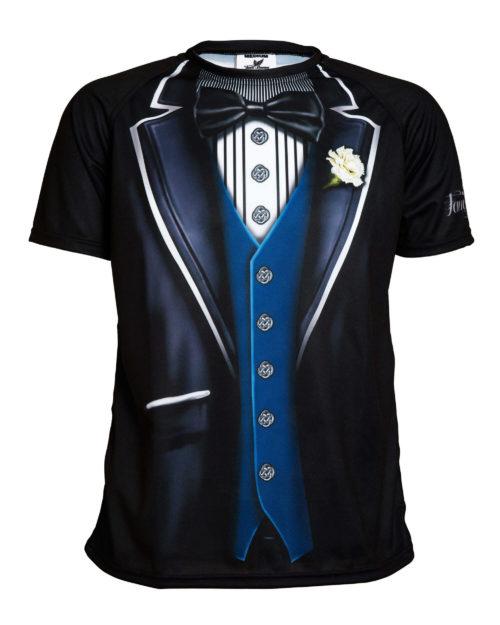 Fancy Running - Tuxedo Running Shirt - Mens