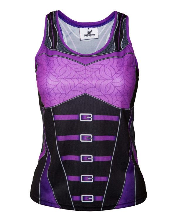 Fancy Running - Goth Bodice Running Vest - Womens