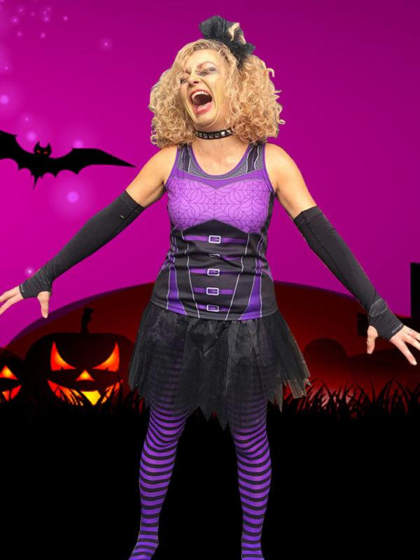 Fancy Running Goth Bodice Halloween