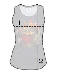 Vintage Band Tee Running Vest