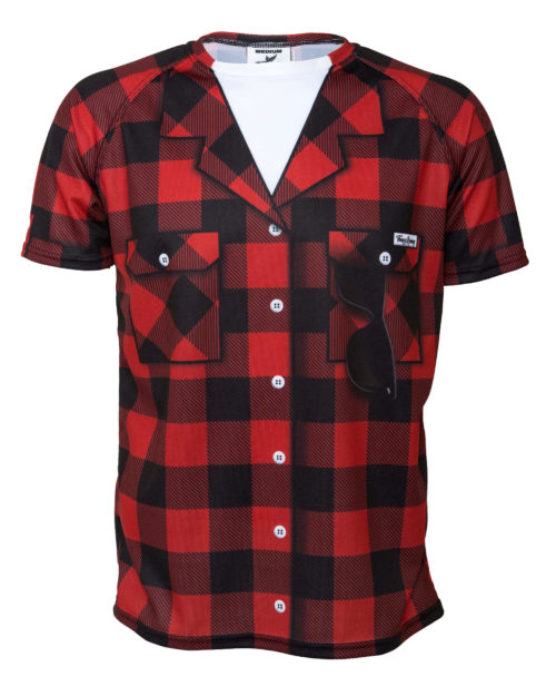 Fancy Running - Mens Buffalo Check Running Shirt