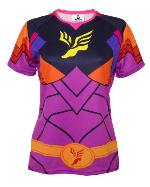 Fancy Running - Ladies Superhero Running Shirt