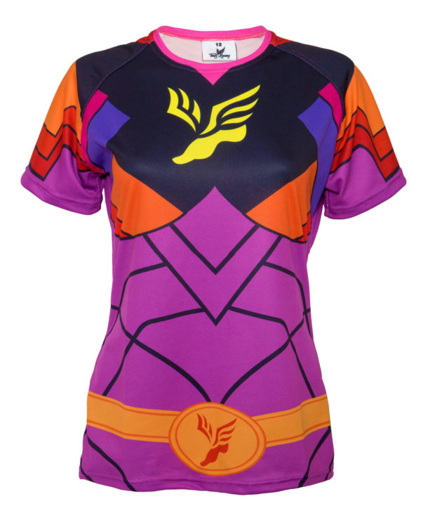Fancy Running - Ladies Superhero Running Shirt