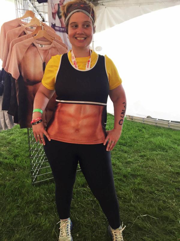 Fancy Running - Muscle Girl Running Vest