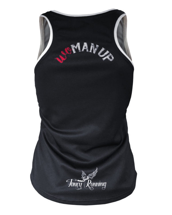 Fancy Running - Woman Up Running Vest - Back