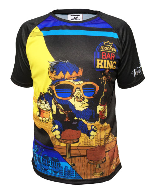 Fancy Running - Monkey Bar King Sport Shirt - Front