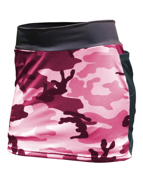 Fancy Running - Camo Skort - Pink - Front