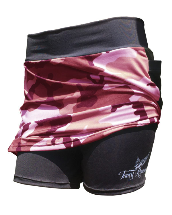 Fancy Running - Camo Skort - Pink - Shorts