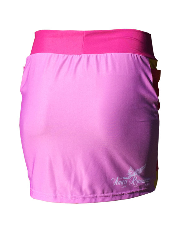 Fancy Running - Unicorn Rider Skort - Pink - Back