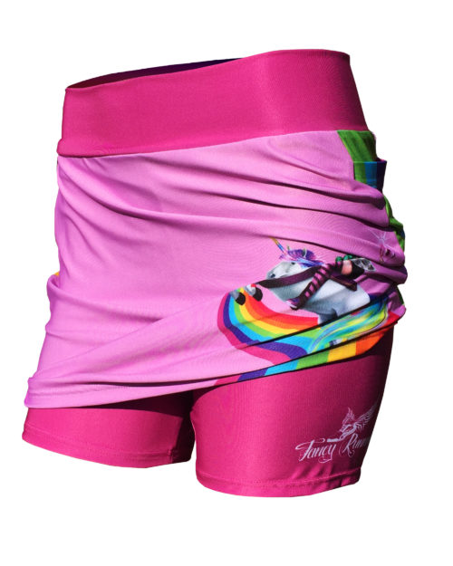 Fancy Running - Unicorn Rider Skort - Pink - Shorts