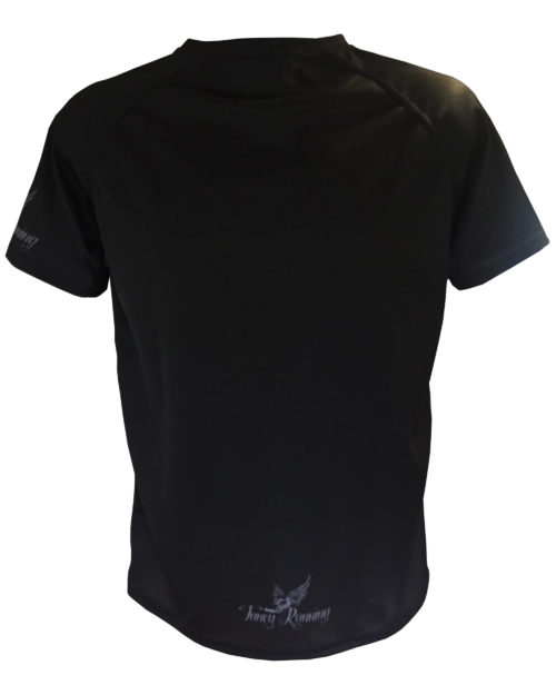 Fancy Running - Black Panther Running Shirt - Back
