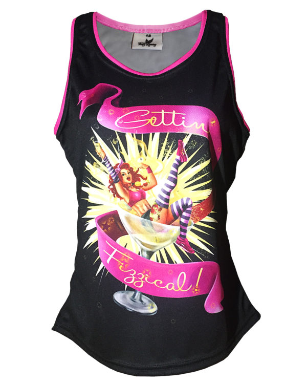 Fancy Running - Gettin' Fizzical Running Vest - Front
