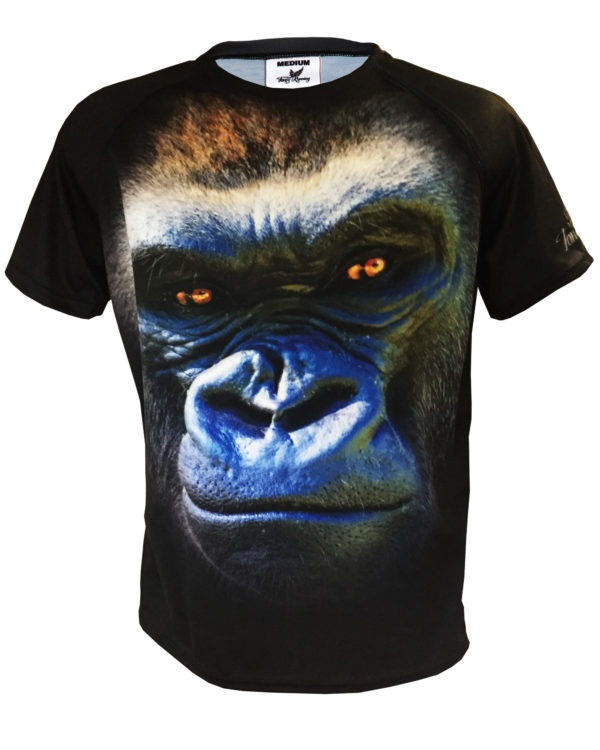 Fancy Running - Gorilla Running Shirt - Front