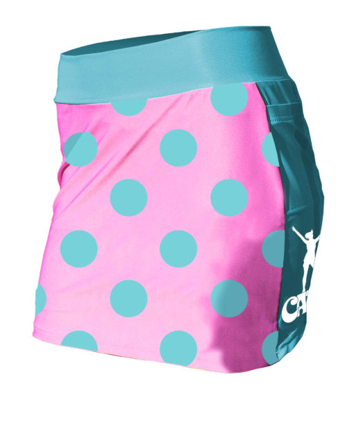 Fancy Running - Catra - Bubblegum Dots Running Skort - Front