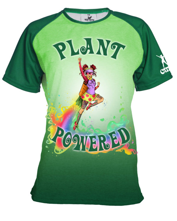 Fancy Running - Catra - Plant Powered Running Shirt - Front