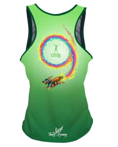 Fancy Running - Catra - Plant Powered Running Vest - Back