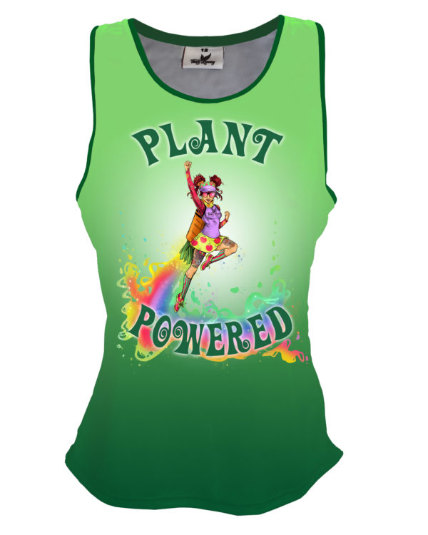 Fancy Running - Catra - Plant Powered Running Vest - Front