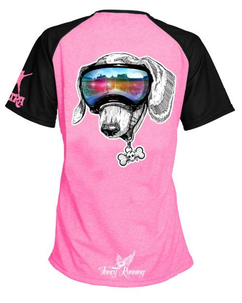 Fancy Running - Catra - Trail Buddies Running Shirt - Back