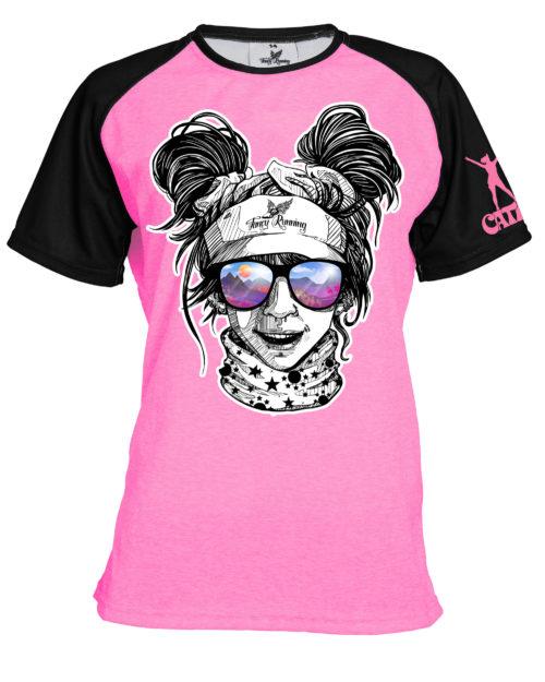 Fancy Running - Catra - Trail Buddies Running Shirt - Front