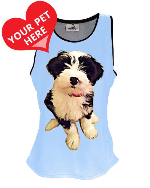 Fancy Running - Presonalised Pet Art Running Vest