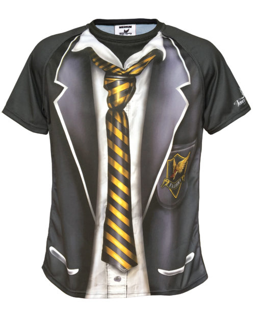 Skool Daze - Fancy Running - School Uniform Running Shirt - Front