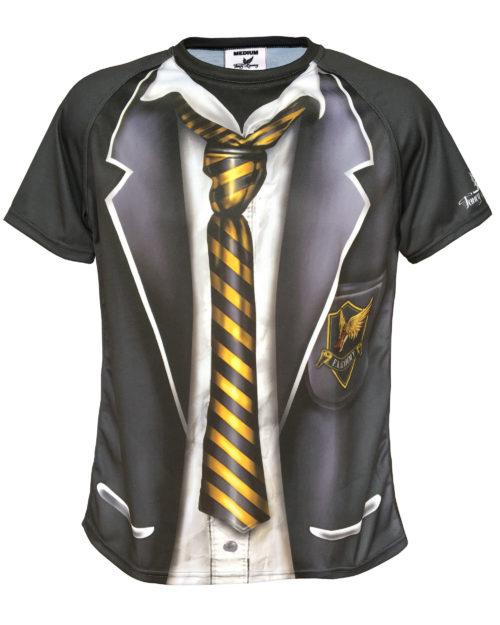 Skool Daze - Fancy Running - School Uniform Running Shirt - Front