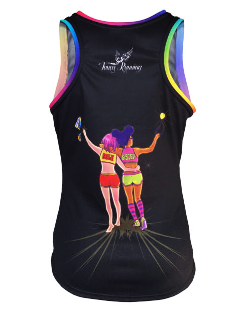 Fancy Running - Sole Sister - Womens Running Vest Back