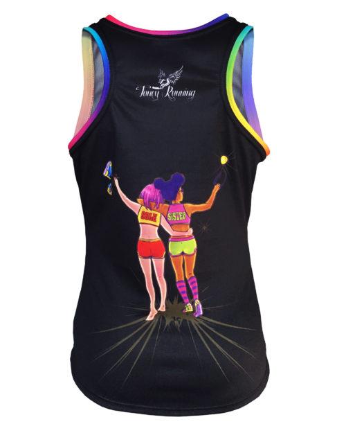 Fancy Running - Sole Sister - Womens Running Vest Back