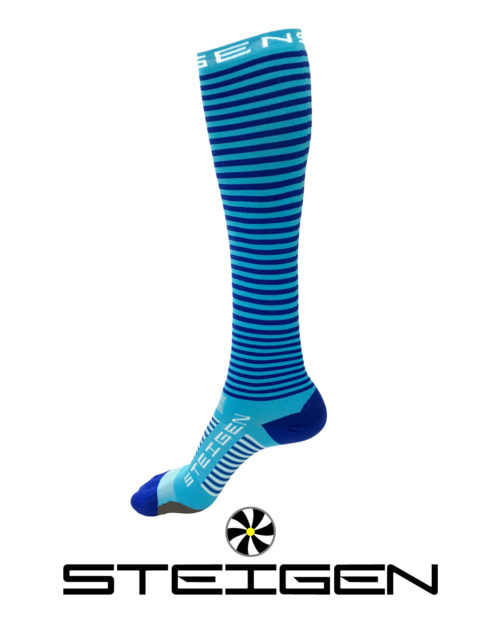 Steigen Blueberry Running Socks Long