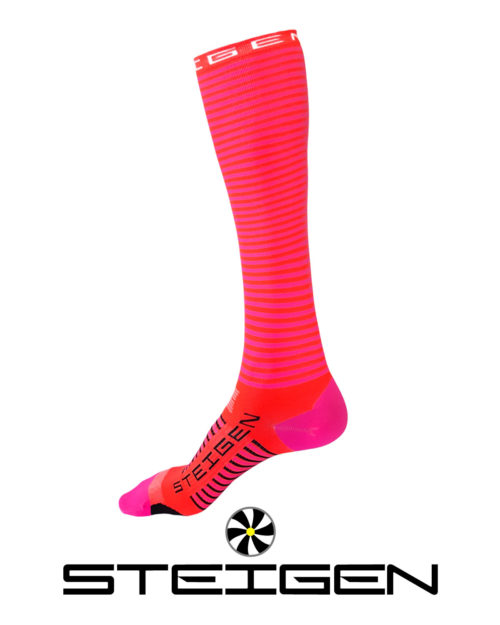 Steigen Flamingo Running Socks Long