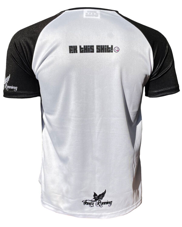 Fancy Running Fk This Shit Men's Running Shirt Back